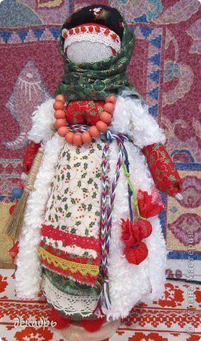 Куклы Новый год Шитьё Коляда Ткань фото 1