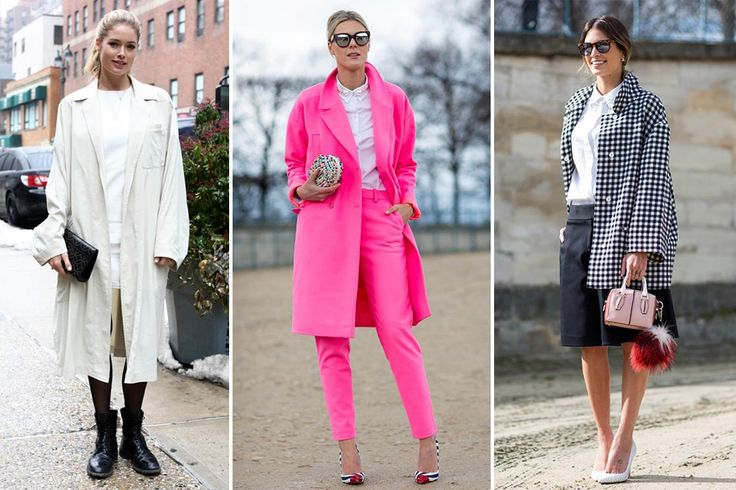 Women in menswear, street style