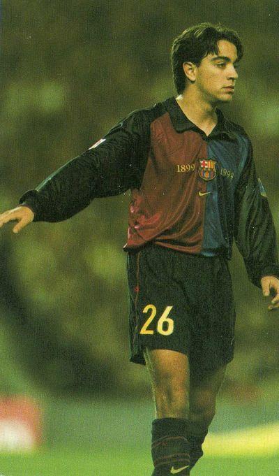 Xavi Hernández, FC Barcelona in 1998. #Xavi #FCBarcelona #Barca