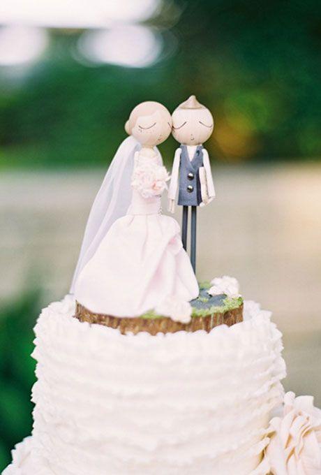 48e5d134a623eeb915d0449f9b0637b8  summer weddings romantic weddings - Wedding Cake Toppers