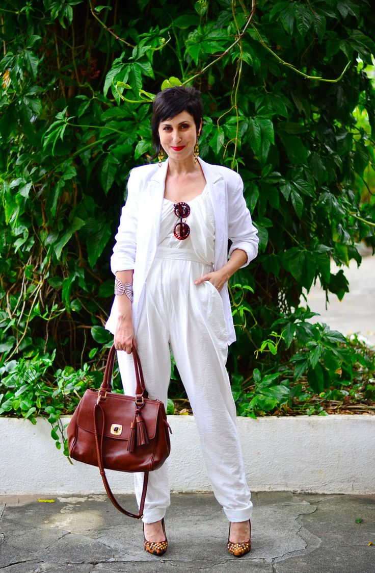 Macacão Espaço Fashion - ? Blazer C&A - 89,90 Scarpin Santa Lolla para C&A
