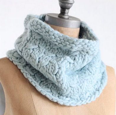 Alpaca Cowl Knitting Pattern : Blue Sky Alpacas Bulky Frosty Cowl Knitting Pattern ...