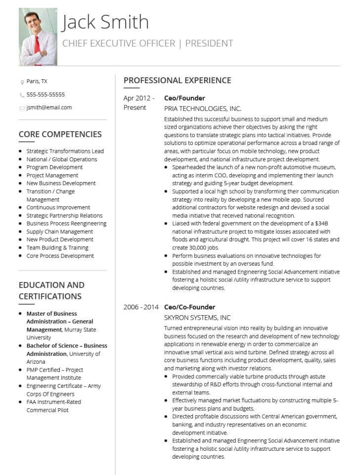Best 25+ Cv examples for students ideas on Pinterest Student cv - chief administrative officer resume