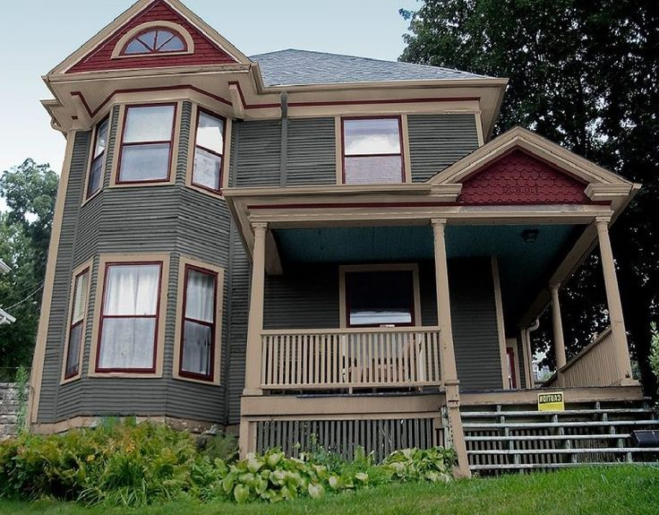 New Victorian home exterior paint colors
