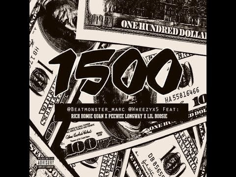 """Jessie Spencer's Music Blog: Rich Homie Quan (@RichHomieQuan) featuring Lil' Boosie (@BOOSIEOFFICIAL) and PeeWee Longway (@peeweelongway) - """"1500"""" (Produced By @marcbeatmonster and Wheezyx5)"""