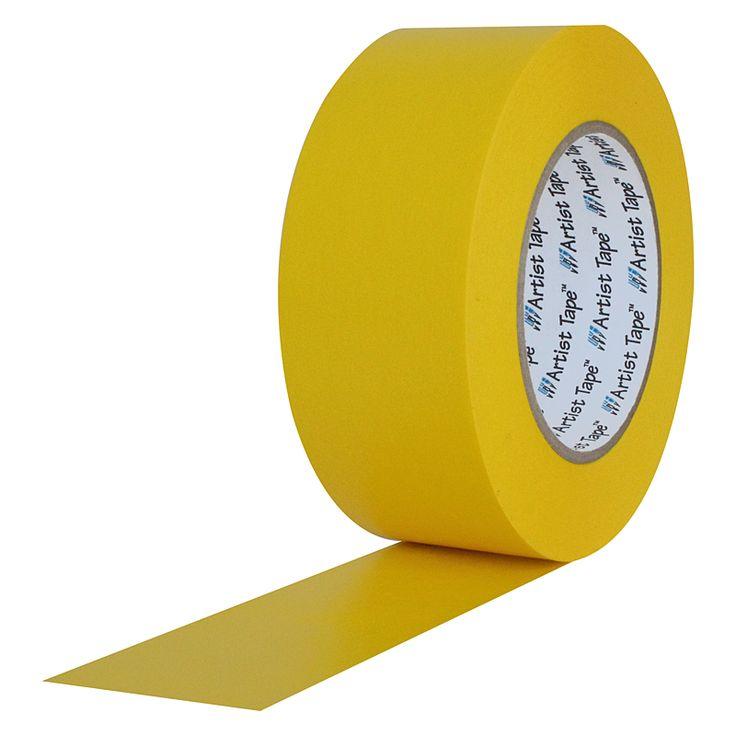 Artist Tape Yellow
