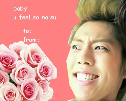 Valentine's day - Dongwoo's version xD
