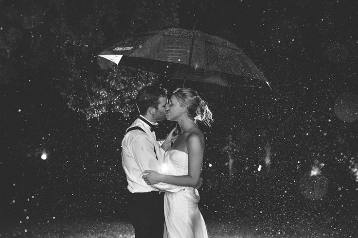 Wet weather wedding photo. Image: Cavanagh Photography http://cavanaghphotography.com.au
