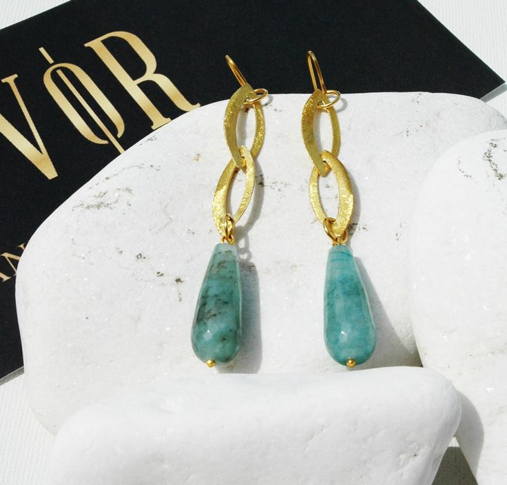 RABAB SKY earrings by VANILE ON THE ROCK! http://www.vanileontherock.com/