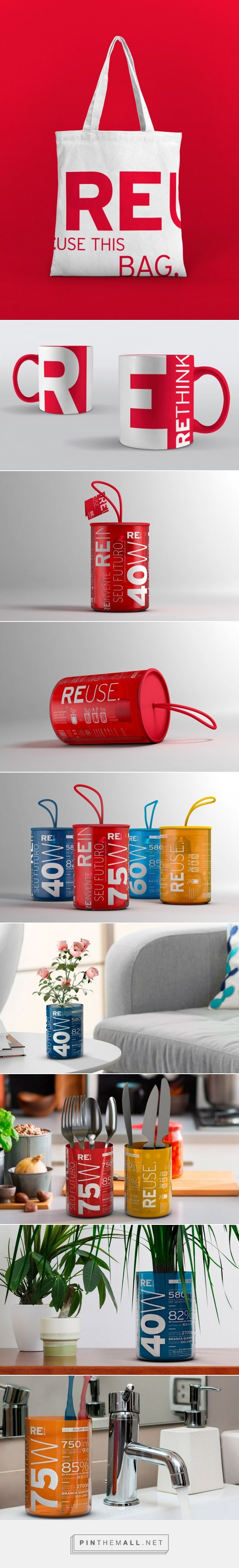RE - Packaging of the World - Creative Package Design Gallery - http://www.packagingoftheworld.com/2016/10/re.html