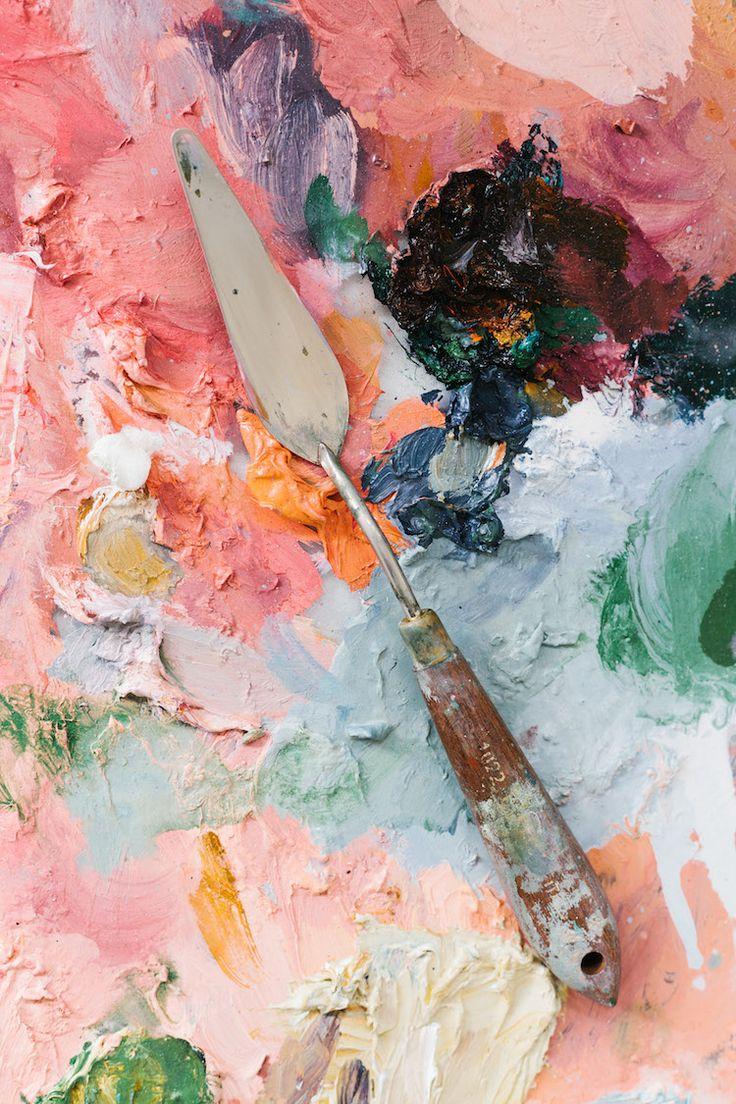 Take A Peek At The Studio Of Painter Emma Fineman