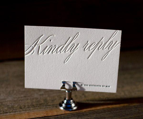 : Posh Letterpresses, Reply Card, Florian Scripts, Scripts Design, Letterpresses Weddings Reply, Beauty Letterpresses, Expen Letterpresses, Figura Letterpresses, Adorable Letterpresses