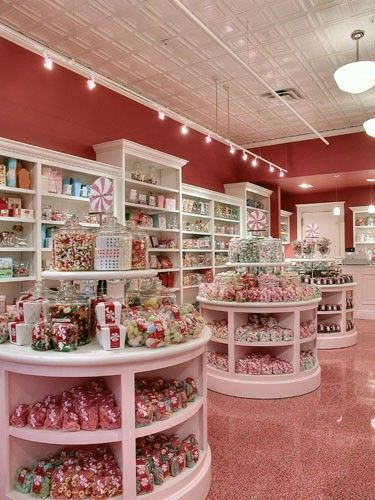 candy store floor