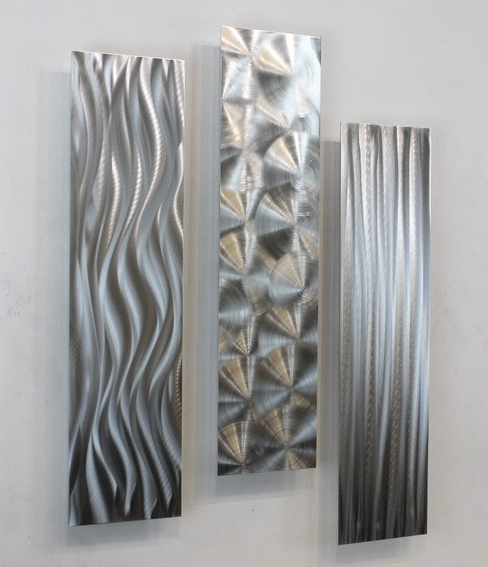 Best 25+ Silver wall art ideas on Pinterest | Abstract wall art ...