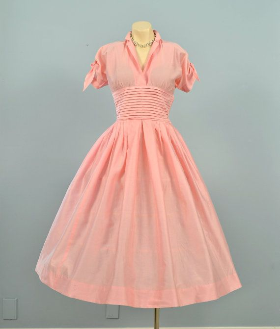Vintage 1950s TAILORED JUNIOR Party Dress