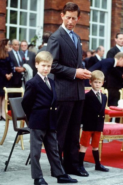 William, Charles, Harry
