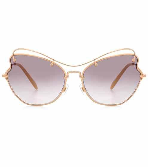 Scenique round sunglasses | Miu Miu