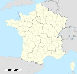 Battle of Tours is located in France