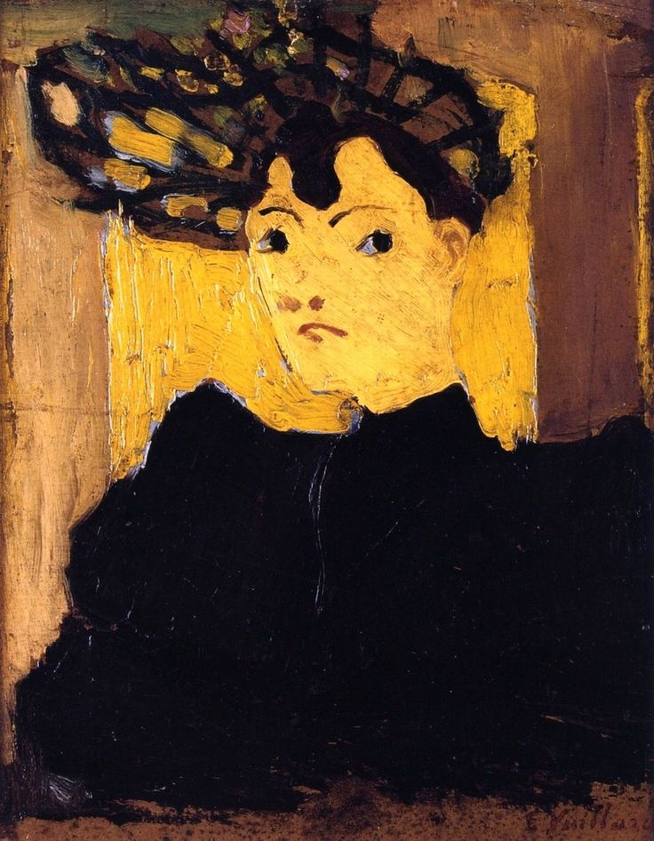 Édouard Vuillard - Hat with Green Stripes, ca. 1890