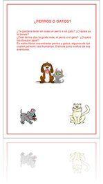 Guía de lectura sobre perros y gatos
