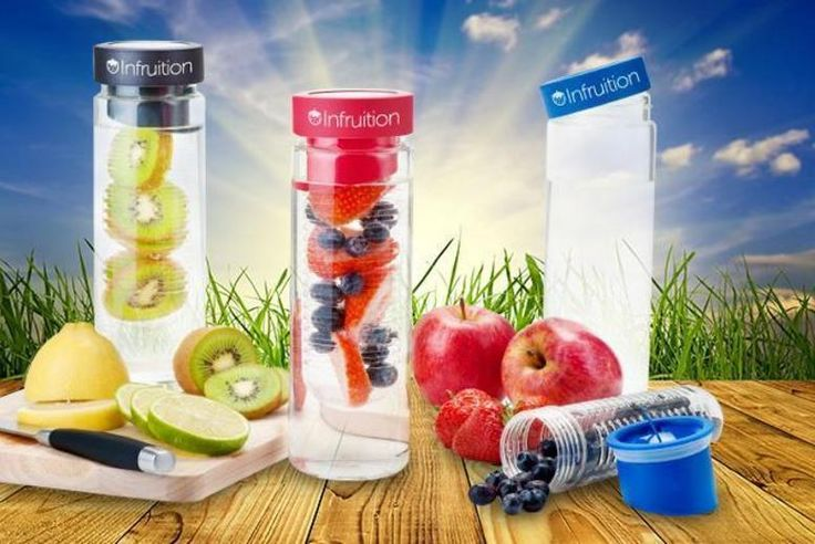 Infruition Fruit-Infusing Water Bottle