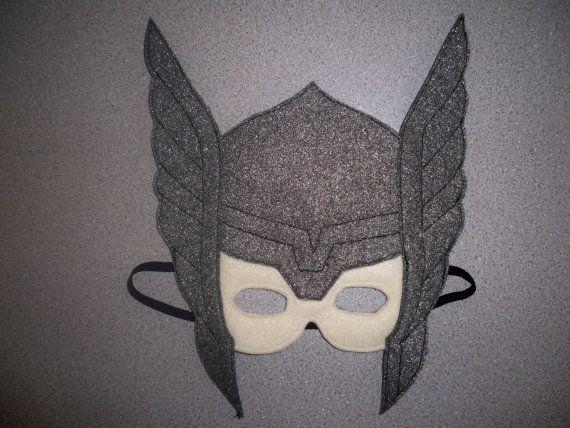 Superhero Thor Avengers Felt Mask or Costume by OurCozyCreations, $10.00
