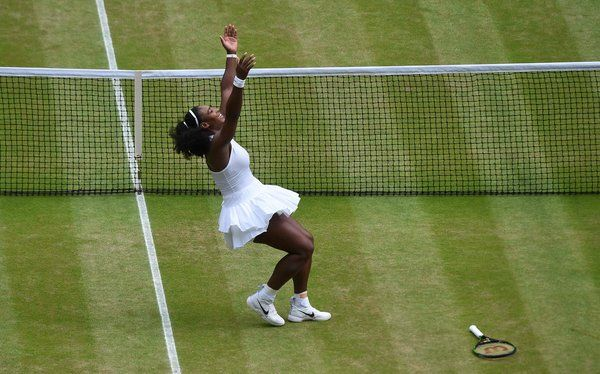 Serena Williams Wins Wimbledon, Tying Record for Grand Slam Singles Titles - NYTimes.com