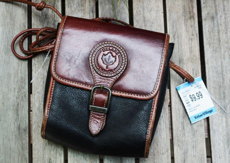 Delane Canada Bag from Value Village, $9.99