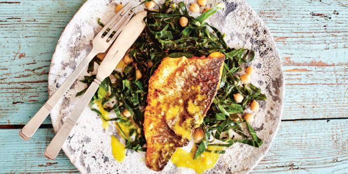 I Quit Sugar - Spiced Sea Bass