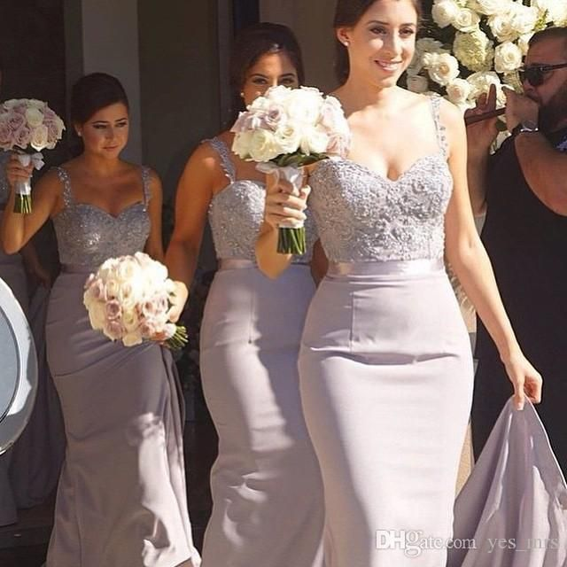 Bridesmaid Dresses 2015 Cheap Spaghetti Straps Lace Beaded Sashes Crystal  Long Mermaid For Wedding Plus Size Lilac Long Party Prom Gowns - Best 25+ Greek Bridesmaid Dresses Ideas On Pinterest Peach