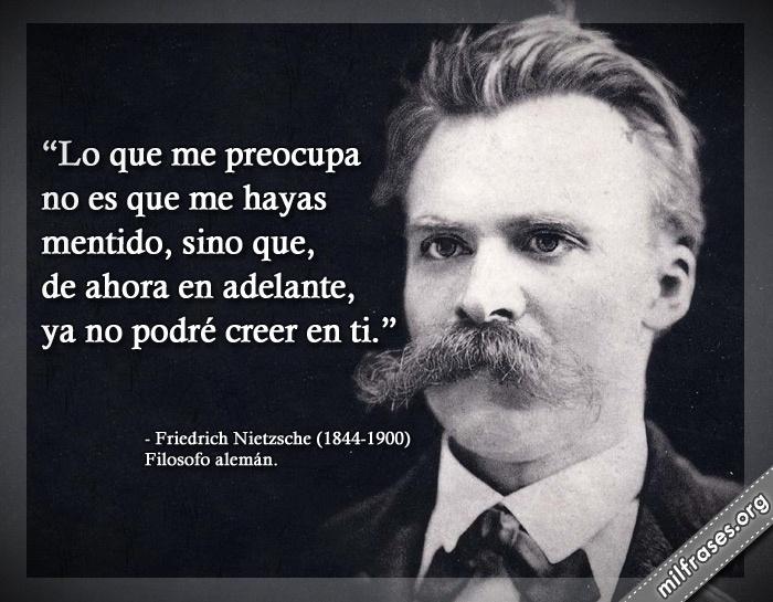 Friedrich Nietzsche, Filosofo alemán.