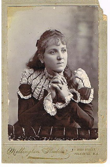 Elise Conway 1912 18yrs old