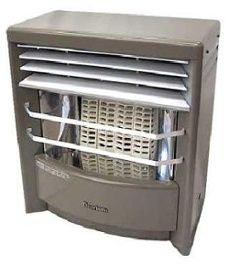 unvented natural gas space heater water vapor combustion safety
