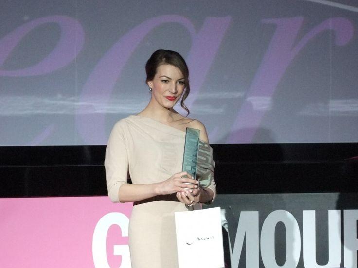 Takács Nóra lett az év műsorvezetője (Glamour Women of the Year 2013) Fotó: Vásárhelyi Dávid - Hír7