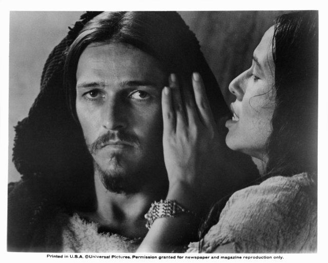 Still of Yvonne Elliman and Ted Neeley in Jesus Christ Superstar