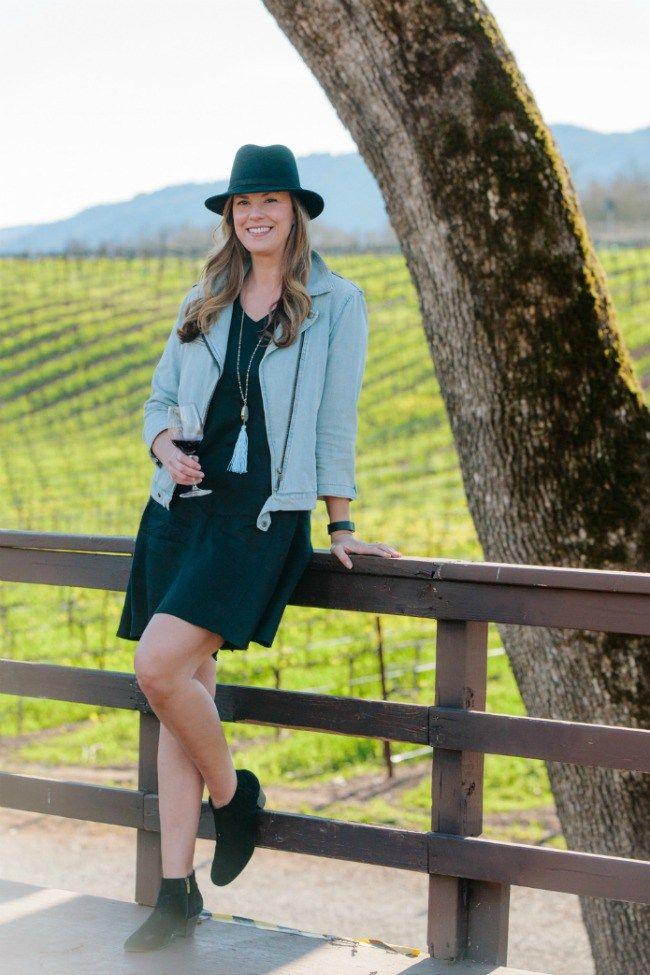 Fabulous spring/summer wine tasting outfit!