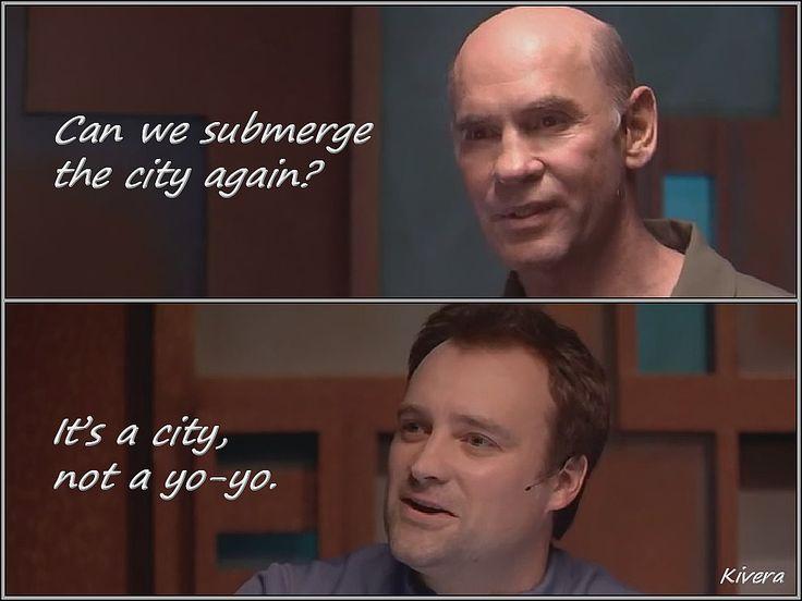 Stargate Atlantis - Oh I love snarky McKay :)