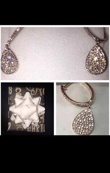 1/2 karat rose gold earrings #DropDangle