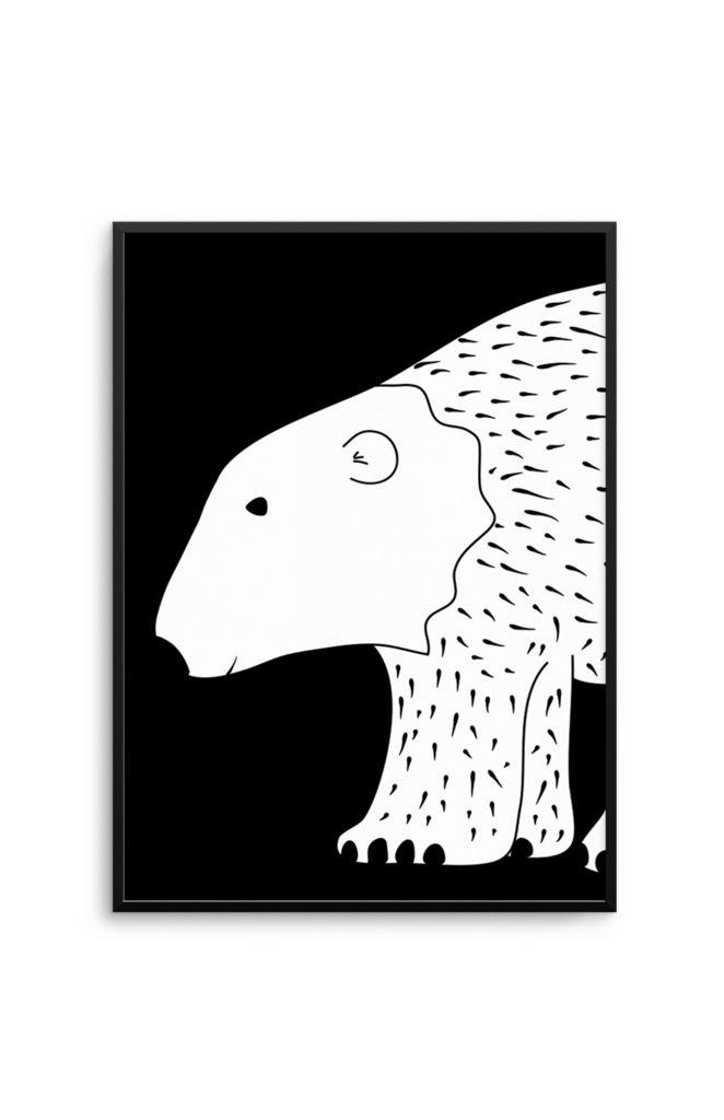 Olive et Oriel Polar Bear Print