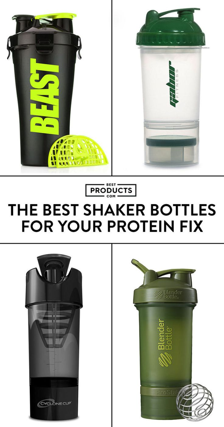 It's time to kick it into high gear and tackle that fitness resolution. If you're going to be hitting the gym hard, pack a post-workout protein shake using one of these top-rated shaker bottles.