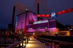 Bright Naistenlahti Power Plant, in #Tampere, #Finland.