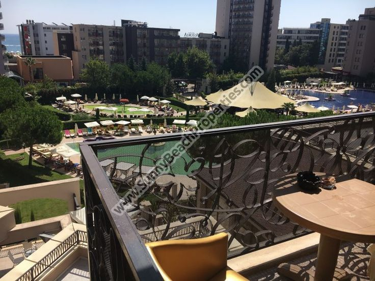 66000€ Sea & pool  view furnished 1-bedroom apartment for sale  in 5***** Royal Beach Barcelo aparthotel downtown Sunny beach, 50. m. from the beach - Sunnybeach Properties - Real Estates in Bulgaria. Apartments, Villas, Houses, Land in Sunny Beach, Nesebar, Ravda ...