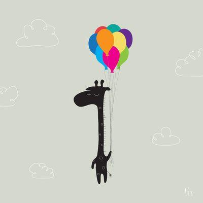 The Happy Flight Art Print