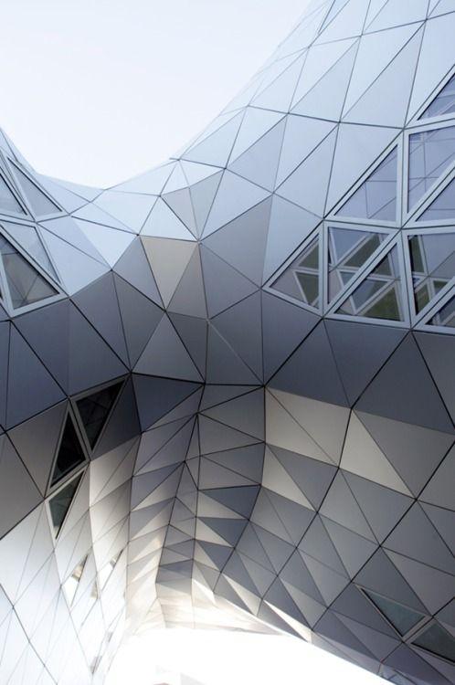 Origami geometry Architecture