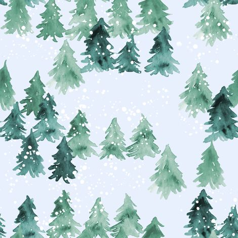 Chalet_View fabric by joy_and_ink on Spoonflower - custom fabric