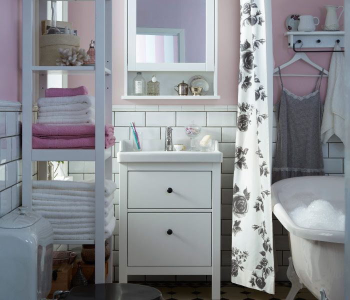 You don't need to renovate to get a bathroom you love. From shelving to shower curtains, little changes make a difference.