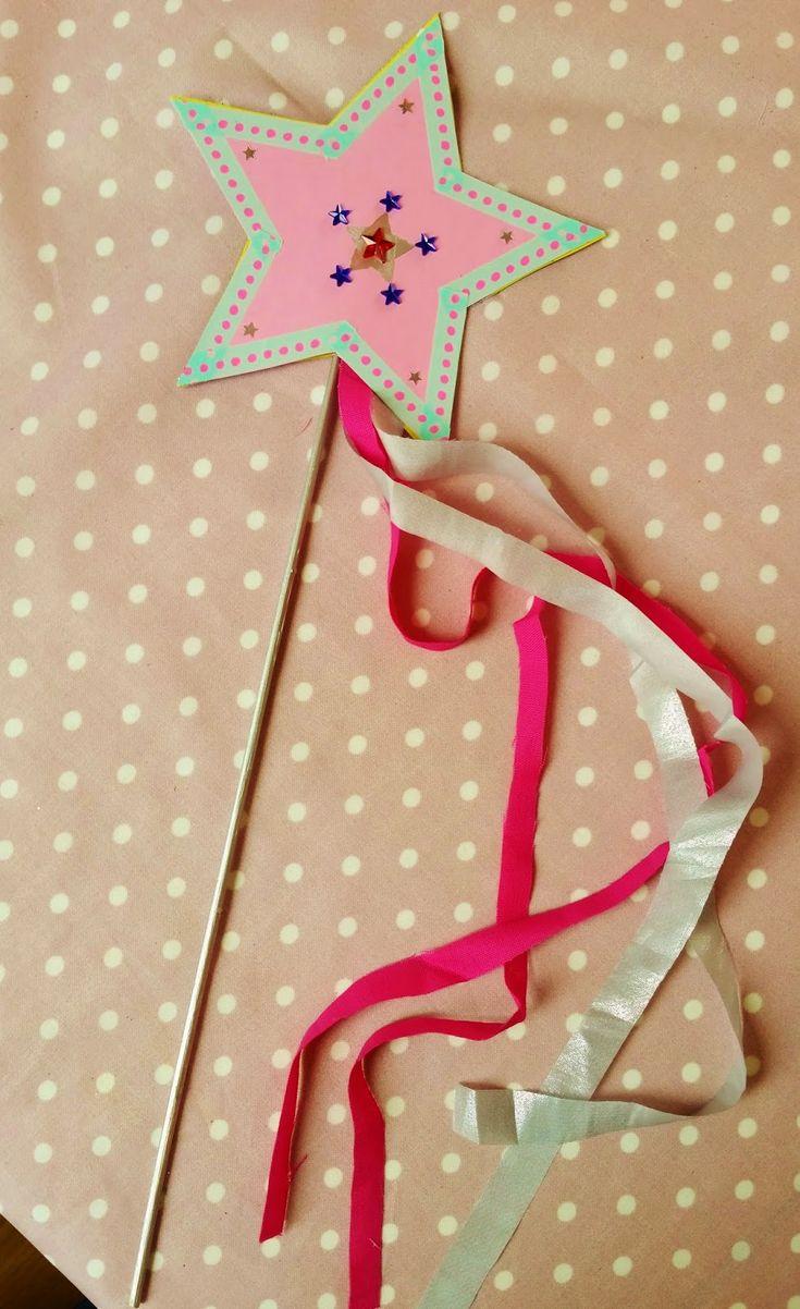 Atelier baguette magique + mini-tuto = anniversaire réussi !   Le bazar d'Anne-Charlotte