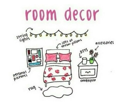 Teenage bedroom - the basics!