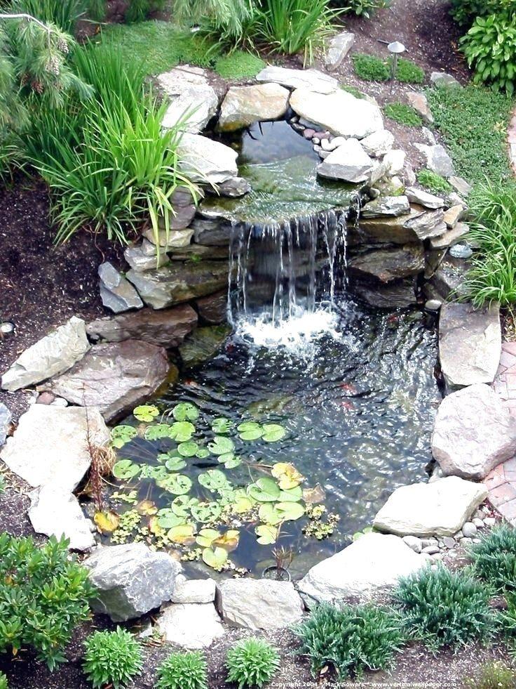 Diy Garden Pond Waterfall Ideas, Garden Waterfall Pond