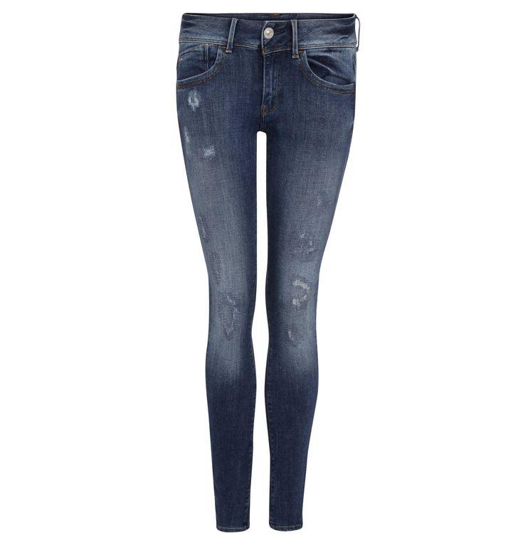 "Jeans ""Lynn"", Skinny Fit, Destroyed-Effekte"